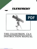 Celestron c4.5 telescope