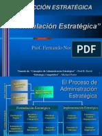 5ta. Sesión - Formulación Estratégica