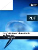 Kant's Critique of Aesthetic Judgement