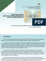 Resilencia Urbana e Impactos