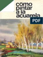 Parramón - Como Pintar a La Acuarela