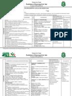 Planejamento Anual de Ensino Língua Portuguesa 7º Ano