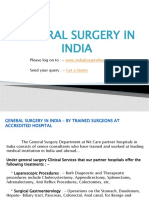 General Surgery In India – By Trained Surgeons At Accredited Hospital