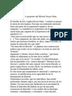 Razón y libertad critica a Reyes Mate