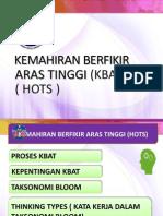 HOTS Berdasarkan DSKP