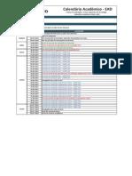 Calendario Geral EAD 2014