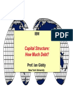IBM Capital Structure