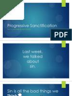 progressive sanctification