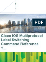 Cisco IOS Multiprotocol Label Switching - Cisco Systems, Inc