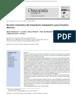 2011 Revisión Sistemática Del Tratamiento Manipulativo Para El Hombro Doloroso Ostepatía Científica