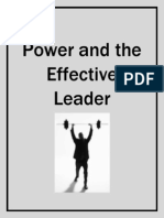 Power and the Effective Leader