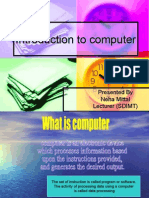 Basics of Computer[1] 10-09-2009