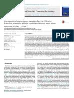 2014-Jhavar-Development of Micro-plasma Transferred Arc