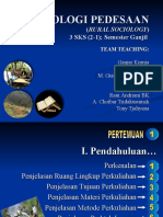Silabus Sosiologi Pedesaan Scl 1