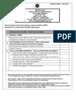CRISS Report Application Form