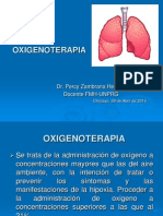 Clase de Oxigenoterapia USAT