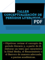 Taller Periodizacion Literaria