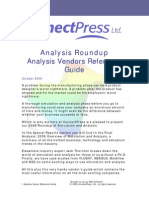 Guide to Analysis