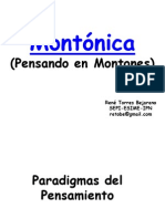 MONTÓNICA (Pensando en Montones)
