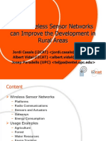 How Wireless Sensor Networks Can Improve the Development in Rural Areas