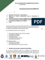 02 - Acta Consejo General de FENEAP Sábado 26 de Abril, USACH