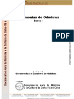 Demo Ceremonias de Oduduwa. Tomo I