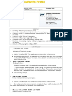 CV Dawilson English 1 291009