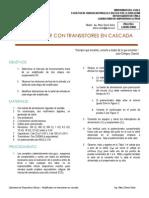 Practica_5_Amplificador Con Transistores en Cascada