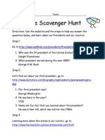 educational scavenger hunt answers