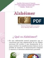 Diapositivas Alzhéimer GenesisFonseca y Tovar Mileidys