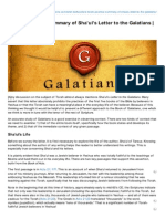 messianicpublications com-a torahpositive summary of shauls letter to the galatians  by ariel berkowitz