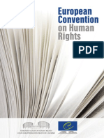 European Convention on Human Right