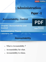 PUB AD (5 a) - Chapter-5 - Accountability, Control,Citizen and Administration