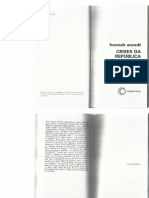 Arendt, H. Crises Da Republica