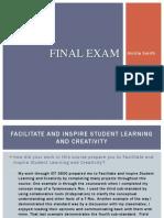 idt-final exam
