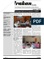 Arakan January Issue 2009