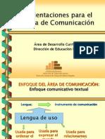 Enfoque de Comunicación Ok.
