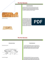 km history project - the han dynasty t-chart
