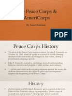 peace corps and americorp