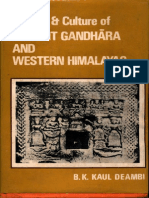History and Culture of Ancient Gandhara and Western Himalayas - B.K. Kaul Deambi