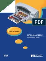 Instructivo de Impresora 1220