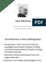 jack mezirow 2014