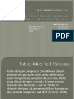 Tablet Modified Release