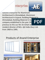 Aanand Enterprise for Aluminium Architectural and Building Material in Gujrat