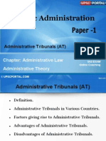 PUB AD (6 C) - Chapter- 6- Administrative Tribunals (at)