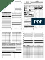 Character Sheet - Nomad v3.5adfasf
