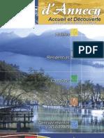 Lac Annecy Accueil et Découverte brochure es