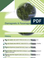 paramagnetic & diamagnetik