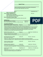 kate frost resume - m ed portfolio