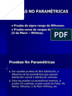 8. Pruebas No Paramétricas